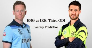 England vs Ireland, 3rd ODI: Fantasy Prediction, Pitch Report and Playing 11