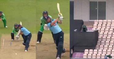 ENG vs IRE: WATCH – Jonny Bairstow smacks a six to complete joint-fastest 50 for England