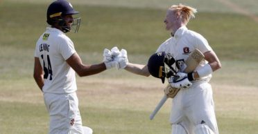 Kent duo remain unbeaten on double-tons as new rule draws a crazy scoreboard