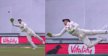 ENG vs PAK: WATCH – Jos Buttler grabs a one-handed stunner in Southampton Test