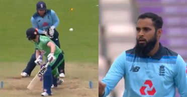 ENG vs IRE: WATCH – Adil Rashid outfoxes Kevin O'Brien with his googly