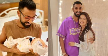 """""""I'm a chachu now"""": Krunal Pandya shares an adorable picture of Hardik's baby boy"""