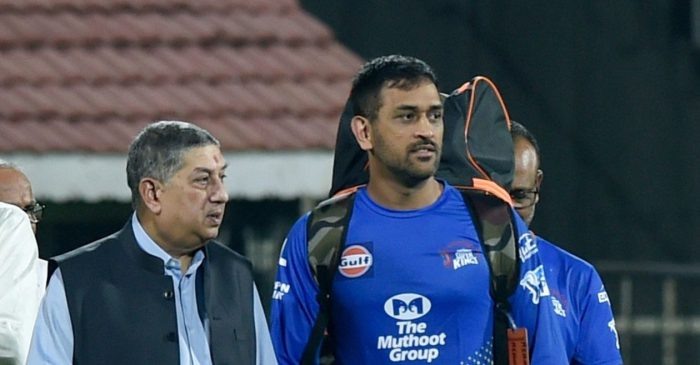 IPL 2020: 'I have got a solid captain' – N Srinivasan shows faith on MS Dhoni after troubles in CSK camp