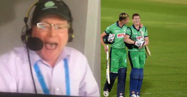 WATCH: Commentator Michael McNamee couldn't control his emotions after Ireland stun England in Southampton