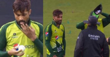 ENG vs PAK: Pakistan seamer Mohammad Amir uses saliva to shine the ball