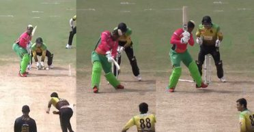 CPL 2020: WATCH – Tallawahs' spinner Mujeeb Ur Rahman outfoxes Shimron Hetmyer with a 97.3 kph delivery