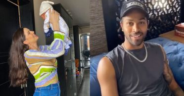 'Daddy' Hardik Pandya lovestruck by wife Natasa Stankovic's cute pictures with their son