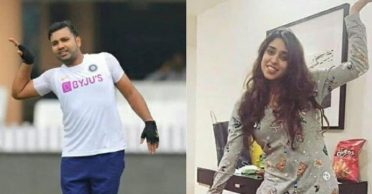 Rohit Sharma shares a charming photo with wife Ritika Sajdeh on Instagram