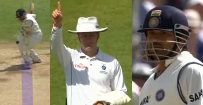 'Don't worry about it': Simon Taufel reveals how Sachin Tendulkar reacted after wrongly given out in 90s
