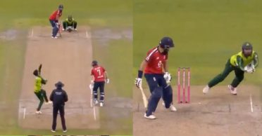 ENG vs PAK: WATCH – Mohammad Rizwan's cheeky comment before taking a stunner to dismiss Moeen Ali