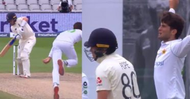 ENG vs PAK: WATCH – Shaheen Afridi stuns Ollie Pope with a vicious delivery