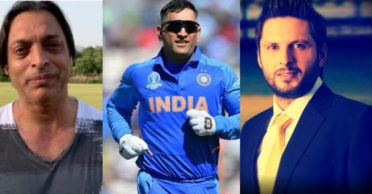 Shoaib Akhtar, Shahid Afridi and other Pakistan cricketers pay tribute to MS Dhoni after he announces retirement