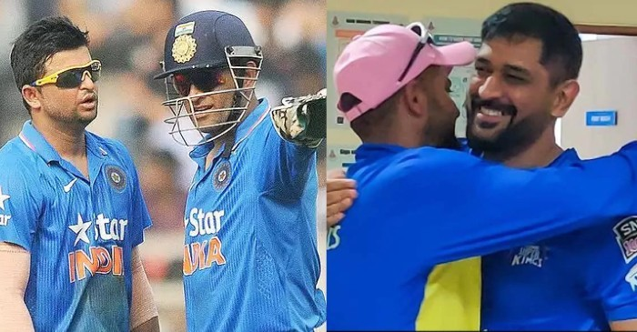 """""""We hugged and cried a lot"""": Suresh Raina discloses inside details after he and MS Dhoni announced retirement"""