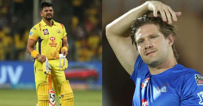 'My heart goes out to you': Shane Watson shares an emotional video after CSK star Suresh Raina pulls out of IPL 2020