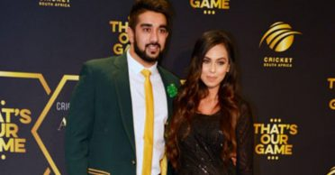 Tabraiz Shamsi shares a hilarious incident of his wife misspelling the names of England cricketers