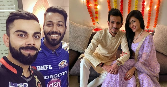 Virat Kohli, Hardik Pandya lead wishes for newly engaged couple Yuzvendra Chahal and Dhanashree Verma