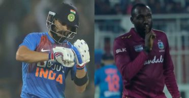 Kesrick Williams opens up about his on-field banter with Virat Kohli