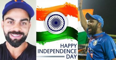 Virat Kohli, Rohit Sharma lead the wishes on India's 74th Independence Day