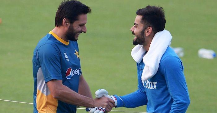 Shahid Afridi names his two favourite Indian batsmen