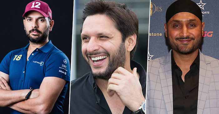 Shahid Afridi gives an update regarding his friendship with Harbhajan and Yuvraj Singh