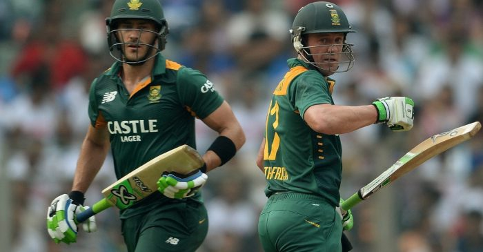 Faf du Plessis reveals why he didn't convince AB de Villiers to make a comeback from his retirement