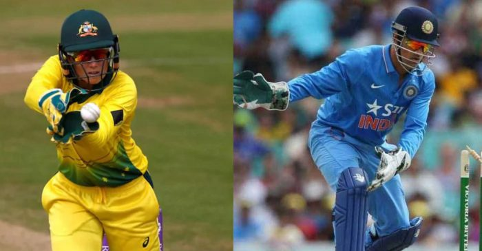 Alyssa Healy breaks MS Dhoni's record of most dismissals by a wicket-keeper in T20Is