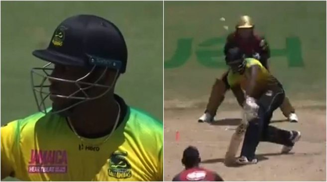 Andre Russell loses his calm after wrongly given out in CPL 2020 semi-final