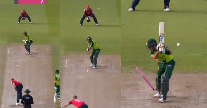 ENG vs PAK: WATCH – Tom Curran bowls a brilliant inswinger to dismiss Babar Azam