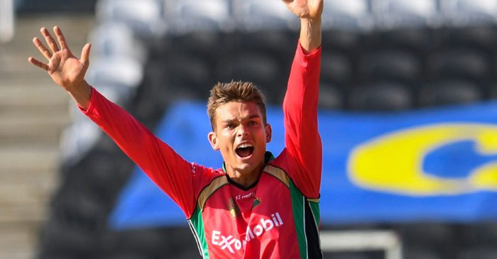 Chris Green bowls the most economical T20 spell during CPL 2020 clash