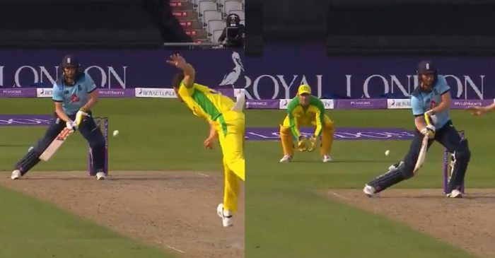 ENG vs AUS: WATCH – Chris Woakes' ridiculous shot off Josh Hazlewood