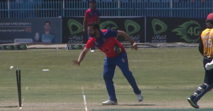 WATCH: Dawlat Zadran does an Ashwin, 'Mankads' Noor Ali in Shpageeza Cricket League 2020