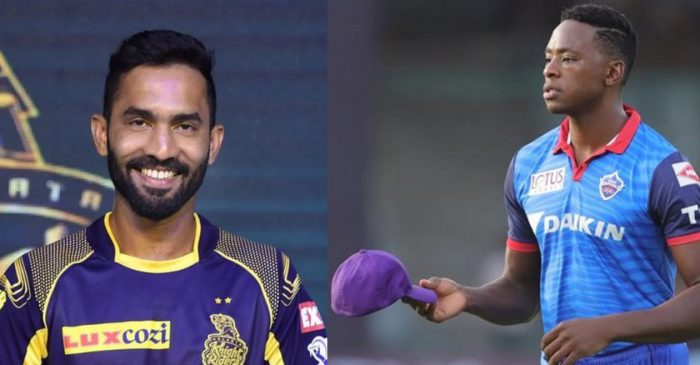 IPL 2020: KKR captain Dinesh Karthik names the three players he would swap for DC's Rabada, Iyer and Ashwin