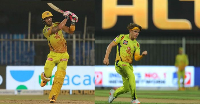 IPL 2020: Here is why Faf du Plessis and Sam Curran did not wear Orange and Purple Caps after RR vs CSK game