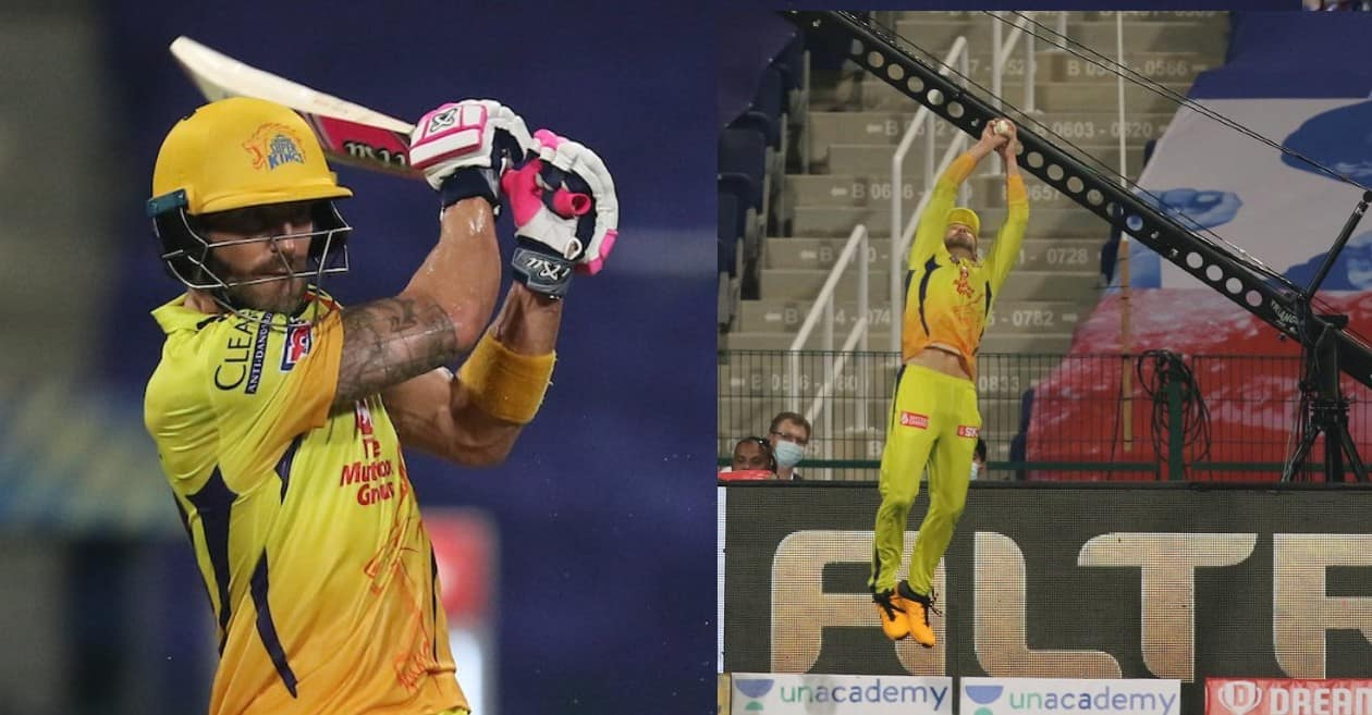 Cricketing world erupts as all-round Faf du Plessis guide CSK to victory over MI in IPL 2020 opener