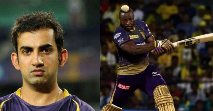 Gautam Gambhir names the bowler who can trouble Andre Russell in IPL 2020