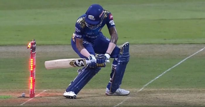 IPL 2020: Hardik Pandya becomes the 11th batsman to get out hit-wicket in tournament's history