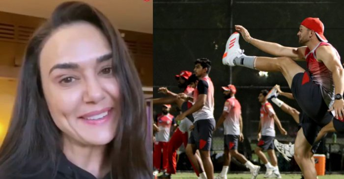 IPL 2020: KXIP co-owner Preity Zinta shares a special message to her team during quarantine in UAE