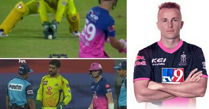 IPL 2020: RR vs CSK – Controversy erupts as Tom Curran was called back after being given out