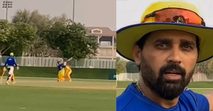 IPL 2020: MS Dhoni's monstrous hit clears the ground during CSK's training session – WATCH