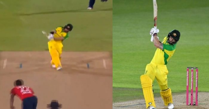 ENG vs AUS: WATCH – Matthew Wade smacks the 'Shot of the Series' in 3rd T20I
