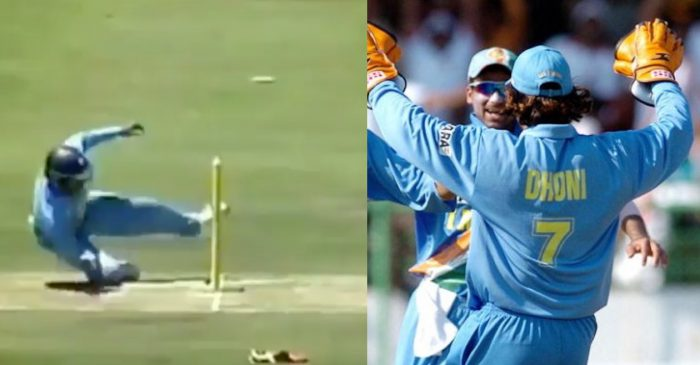 Mohammad Kaif shares a throwback video to show MS Dhoni's fielding brilliance