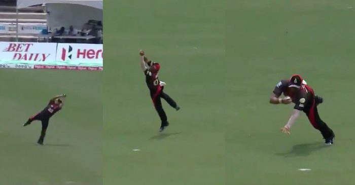 WATCH: Pravin Tambe's brilliance in the field against St Kitts and Nevis Patriots