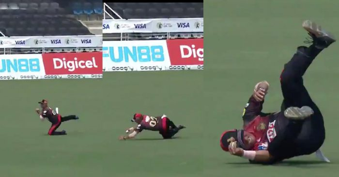 WATCH: 48-year-old Pravin Tambe defies age with yet another screamer in CPL 2020