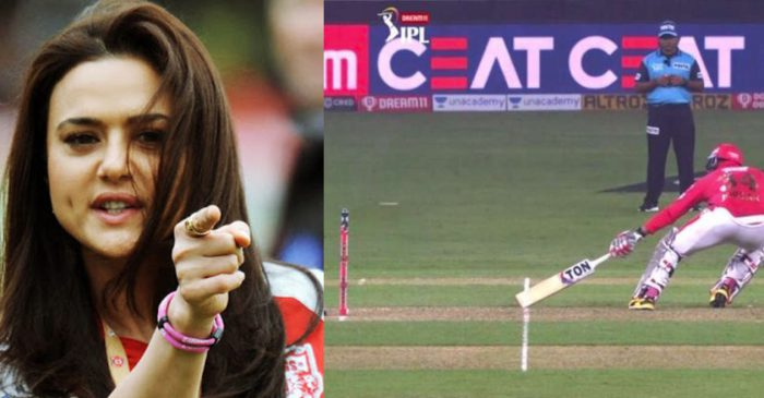 IPL 2020: Preity Zinta slams BCCI for an umpiring howler that cost KXIP a match against DC