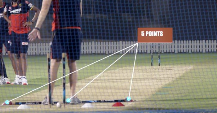 IPL 2020: RCB players take a unique 'Yorker Challenge' during the practice session