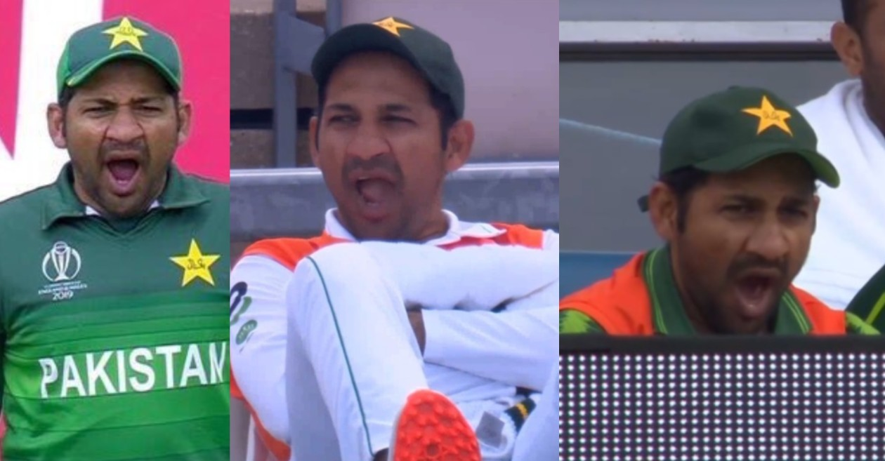ENG vs PAK: Netizens mock Sarfaraz Ahmed for 'yawning in all formats of the game'