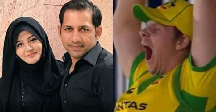 ENG vs AUS: Sarfaraz Ahmed's wife pokes fun at Steve Smith for his 'yawning' picture