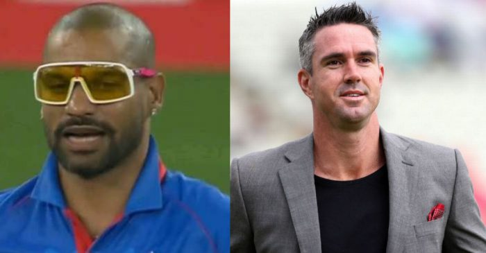 IPL 2020: Shikhar Dhawan's funky glasses attract netizens; even Kevin Pietersen couldn't control himself