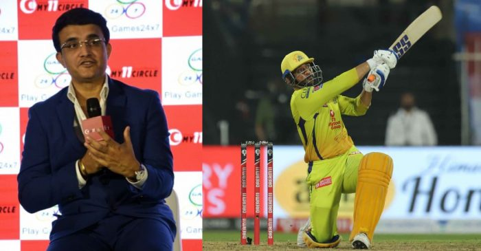 BCCI President Sourav Ganguly opens up about MS Dhoni's batting performance in IPL 2020