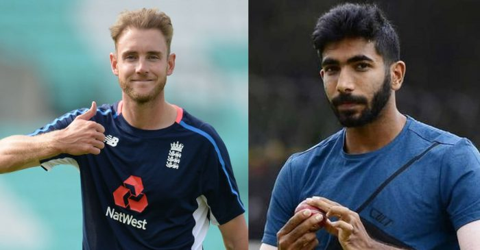 Stuart Broad comes up with a superb reply after a fan rate him not better than Jasprit Bumrah